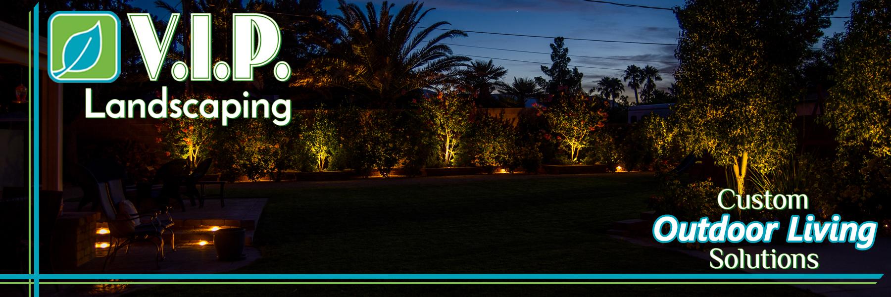 Custom Outdoor Living Solutions: Low voltage lighting